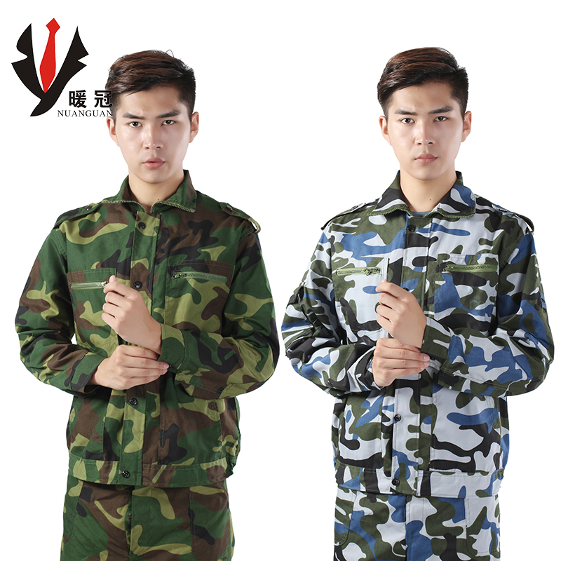 Warm champion training jungle training uniform camouflage suit outdoor clothing military service military training clothing suits