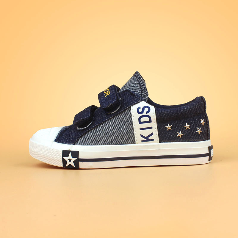 Warrior shoes canvas shoes boys shoes 2016 autumn new korean version of baby shoes cloth shoes student shoes for children aged