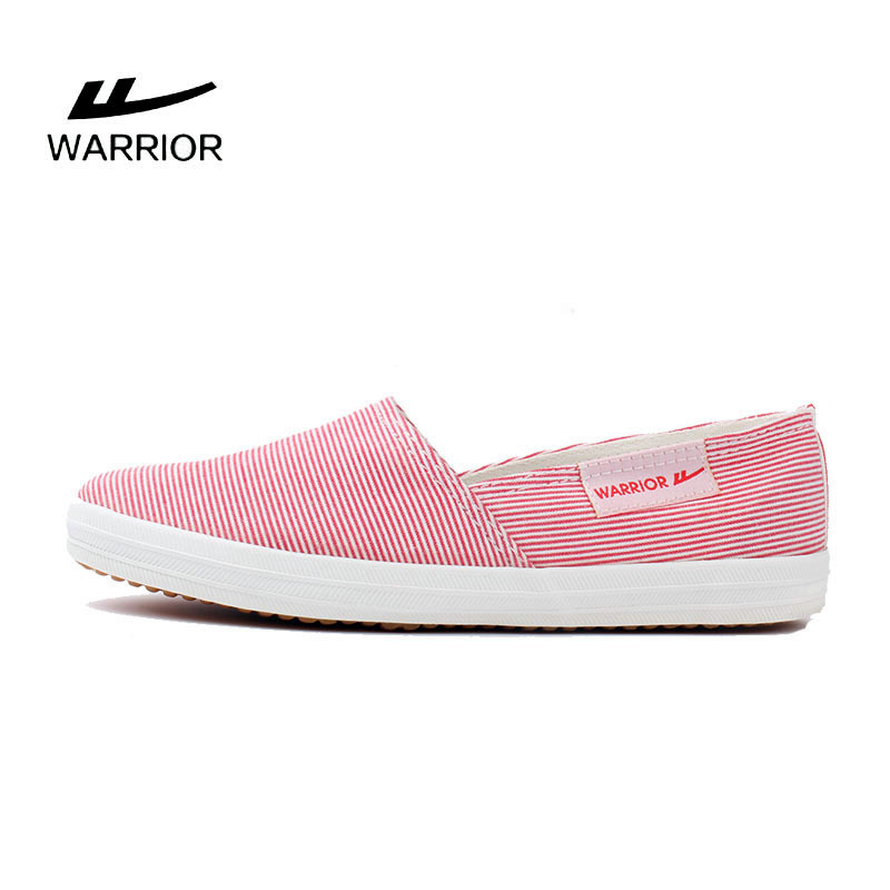 Warrior/warrior authentic canvas shoes female korean tidal lazy shoes to help low flat cloth shoes shallow mouth shoes shoes