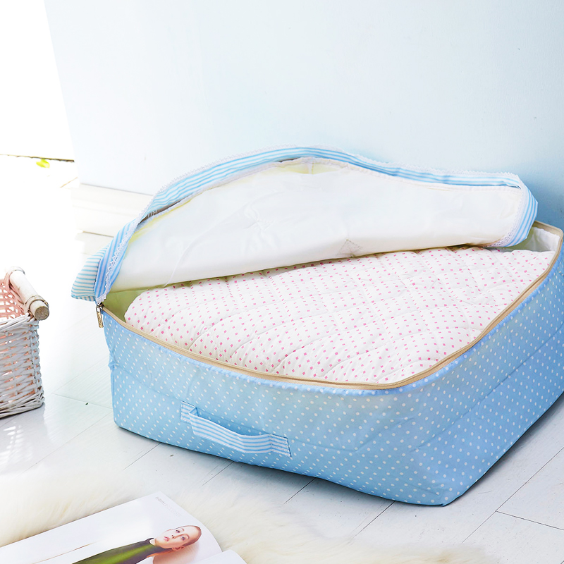 Washable quilt pouch bag storage bag finishing quilts pouch bags of clothes sorting box storage box large