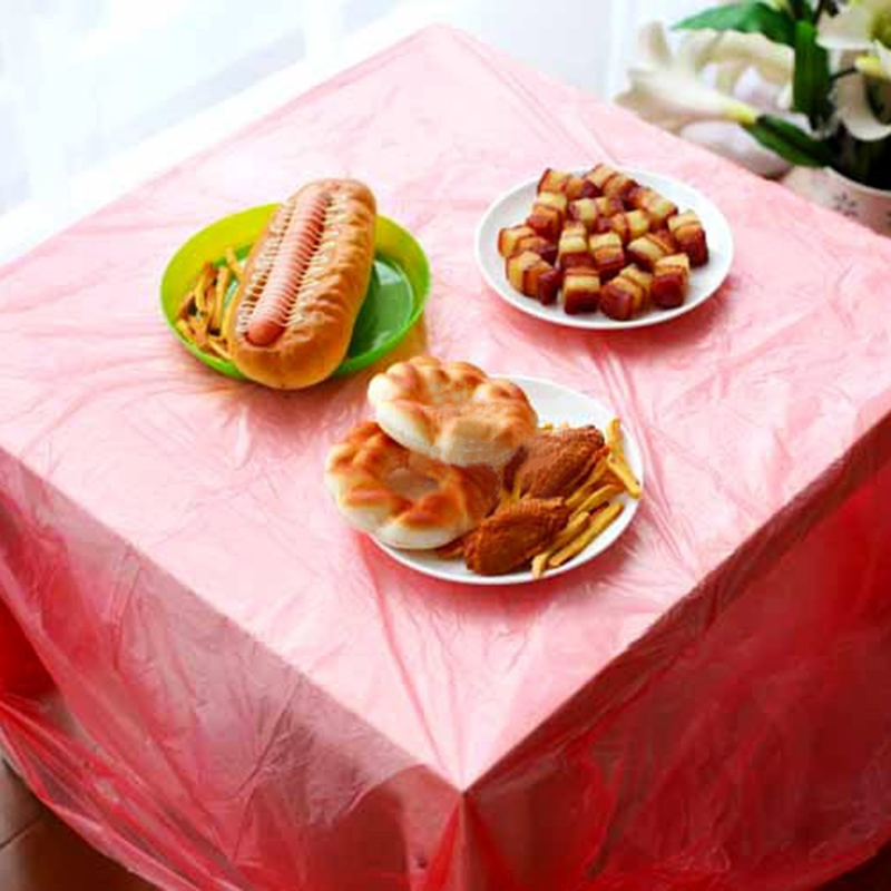 Water and oil repellency disposable plastic tablecloth tablecloth wedding banquet banquet tablecloth tablecloth