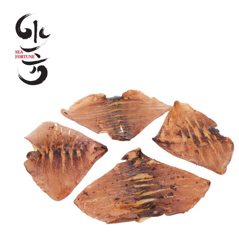 Water side grilled squid ear bef0re they dalian specialty seafood snacks ready to eat squid squid rings squid tail piece