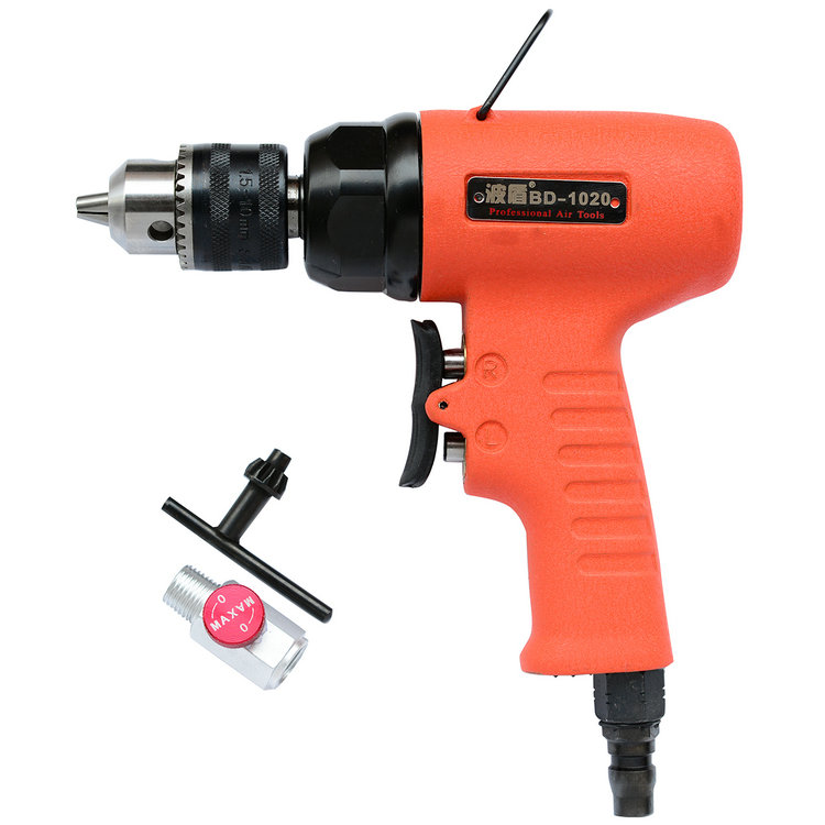 Wave shield 10mm high torque pneumatic pneumatic air drill pneumatic drill pneumatic drill hand drill pistol drill BD-1020