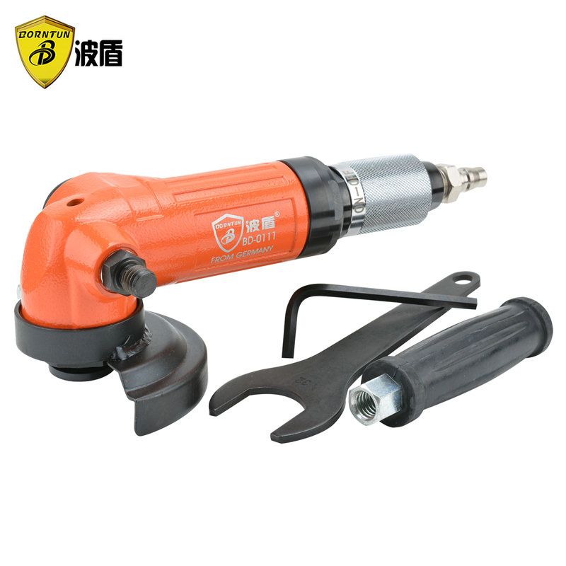 Wave shield 4 inch high torque pneumatic angle grinder 100mm angle grinder pneumatic grinding machine BD-0111