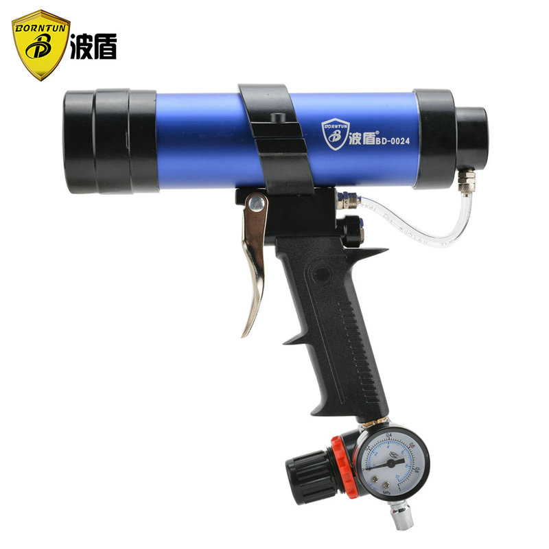 Wave shield with speed pneumatic glue gun pneumatic caulking gun glass glue gun pneumatic gun 310/600 ml