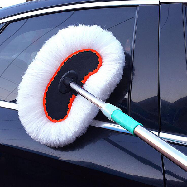 Wax brush drag car wash cleaning mop telescopic duster dusting brush car brush soft bristle brush skillet cleaning tools auto supplies