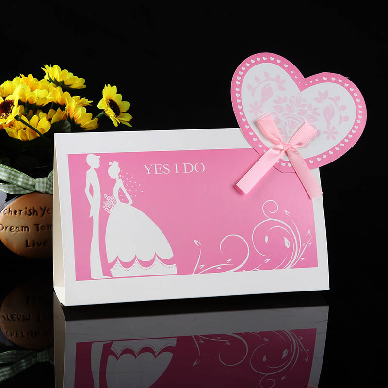 Wedding supplies wedding feast purple wedding love creative wedding table cards taiwan card seat card table card table sign