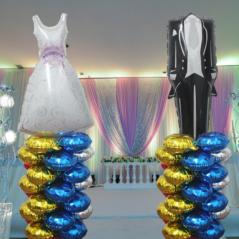 Wedding venue decoration decorative styling birthday party balloon arches opening celebration arranged road lead column
