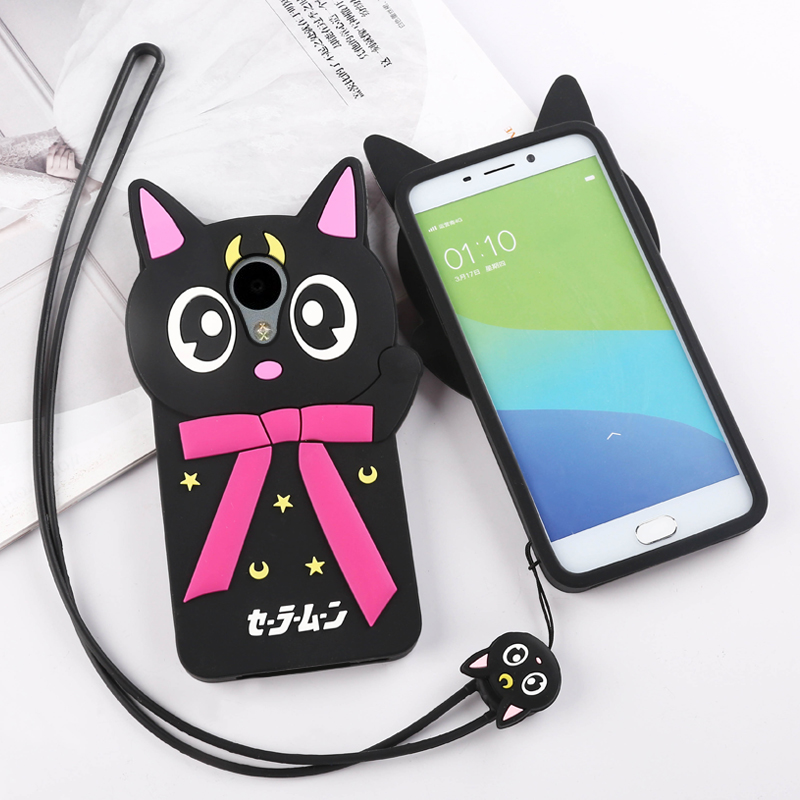 Wei jian phone shell mobile phone shell silicone soft meizu charm blue charm blue 3 s cartoon mobile phone sets drop resistance protective sleeve lanyard 5 inch