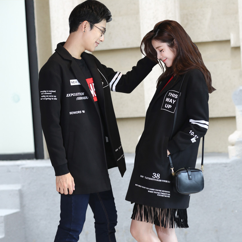 Well still lovers fall and winter clothes 2016 new autumn and winter ladies woolen coat korean fan big yards female student coat