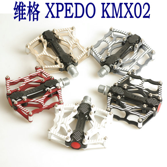Wellgo ludwig xpedo ultralight foot aluminum mountain bike cycling road cycling gold bearing KMX02