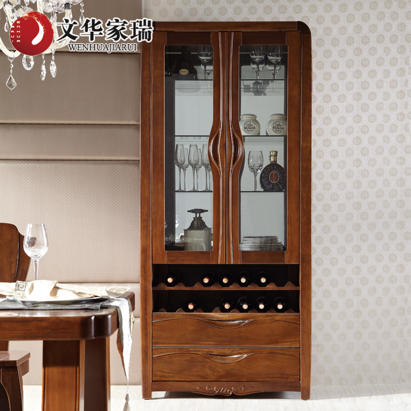 Wen hua jiarui throughout the north american walnut wood cabinet combination of chinese living room wood wine cabinets custom furniture