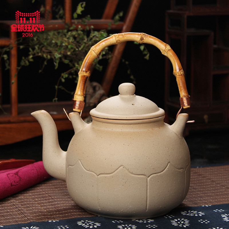Wen morning tea jug teapot boiling teapot kettle electric ceramic heaters special kung fu tea pot gantry pot pot