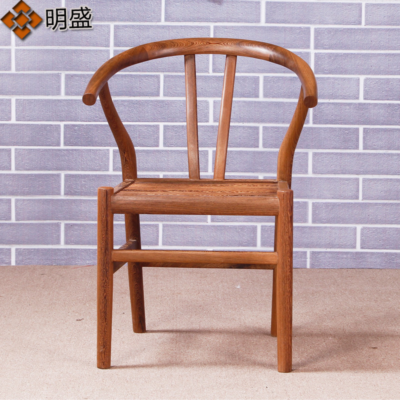 Wenge wenge wood deck chairs armchair ming and qing antique mahogany furniture wood chair chinese chair armchair lounge chair