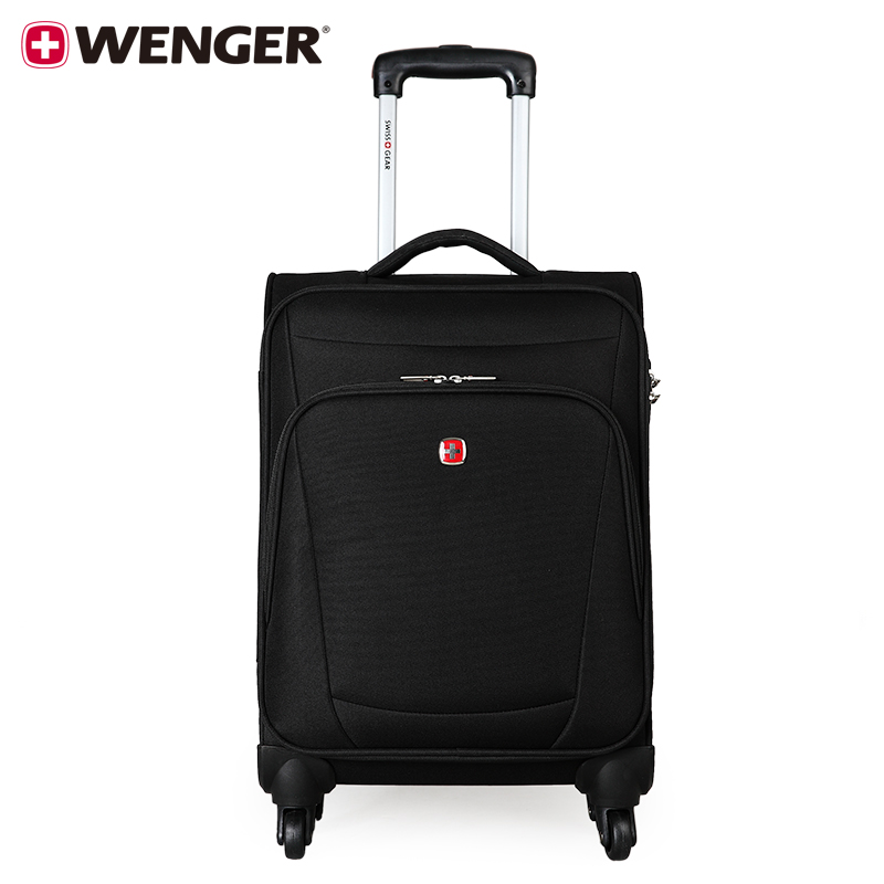 Wenger/wenger swiss army knife swissgear male 22 inch business suitcase trolley case suitcase board chassis black