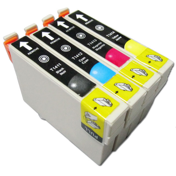 West cartridges compatible cartridges epson141 t1411 me35 me350 me33620f 330 560 w