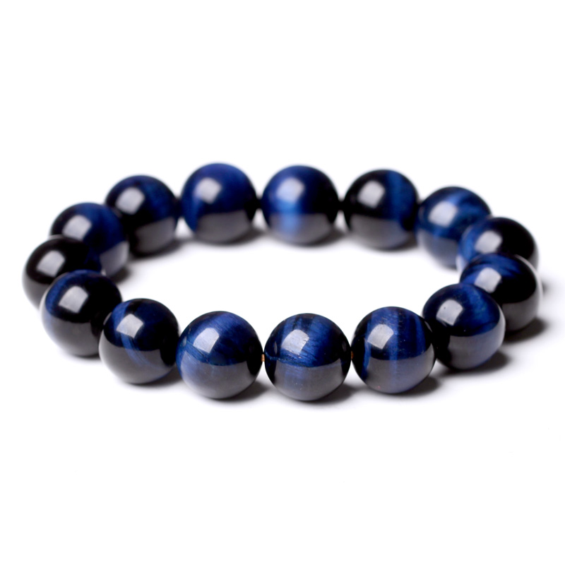 West east crystal blue tiger eye beads barrel beads bracelet lap bracelets ethnic couple hundred ride