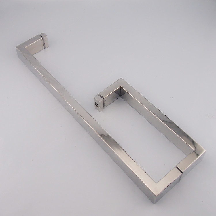 When paul reached the light stainless steel square tube glass door handle bathroom handle shower handle bathroom handle