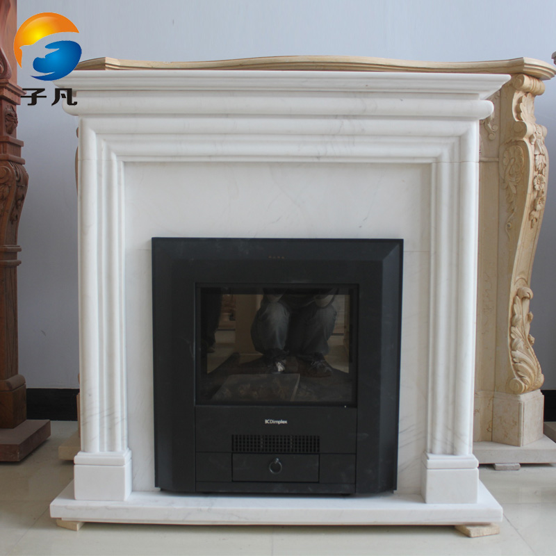 Where child european marble stone simple lines of household heating fireplace decorative fireplace mantel decoration BL86