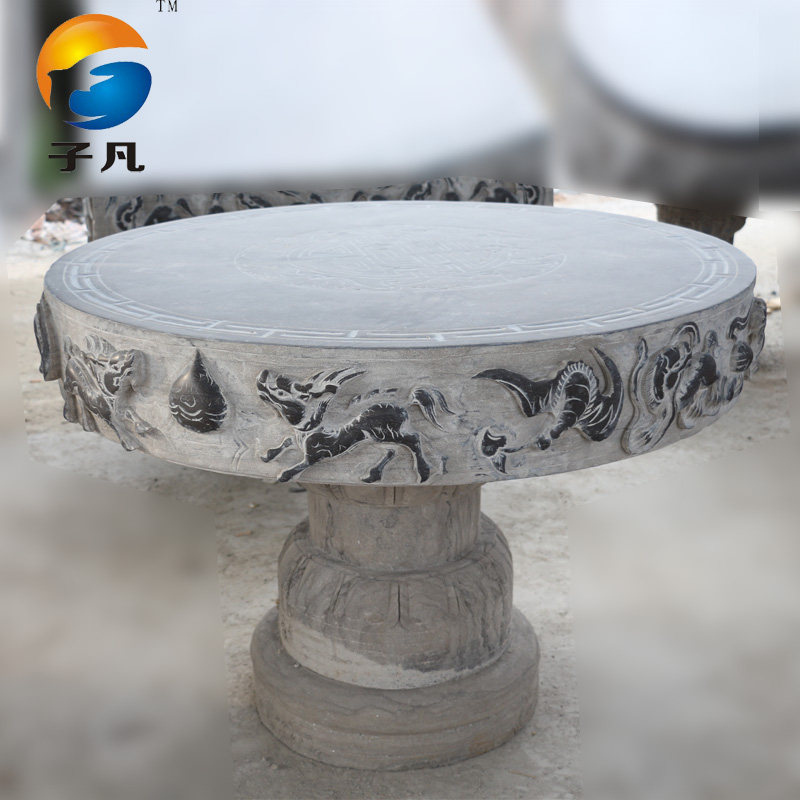 Where the sub natural bluestone stone carving stone hand carved antique porcelain table stool stool tables and chairs do the old deal ZY59