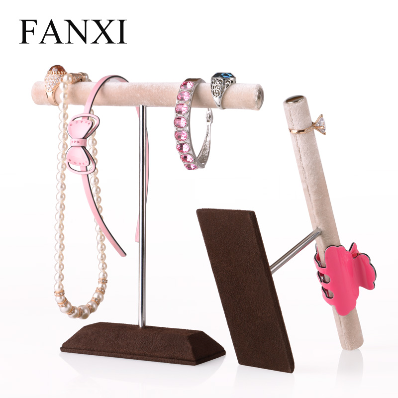 Where the west fanxi creative velvet bracelet ring jewelry rack bracelet necklace jewelry display rack for hanging