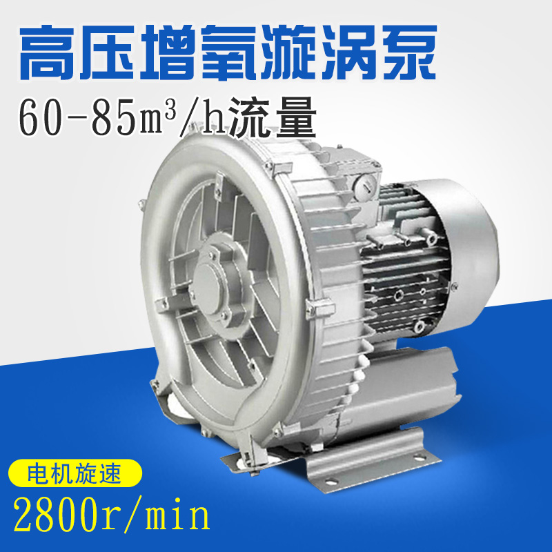 Whirlpool aerator pond aerator pump high pressure vortex pump high pressure blower oxygen pump oxygenation pump electric pump