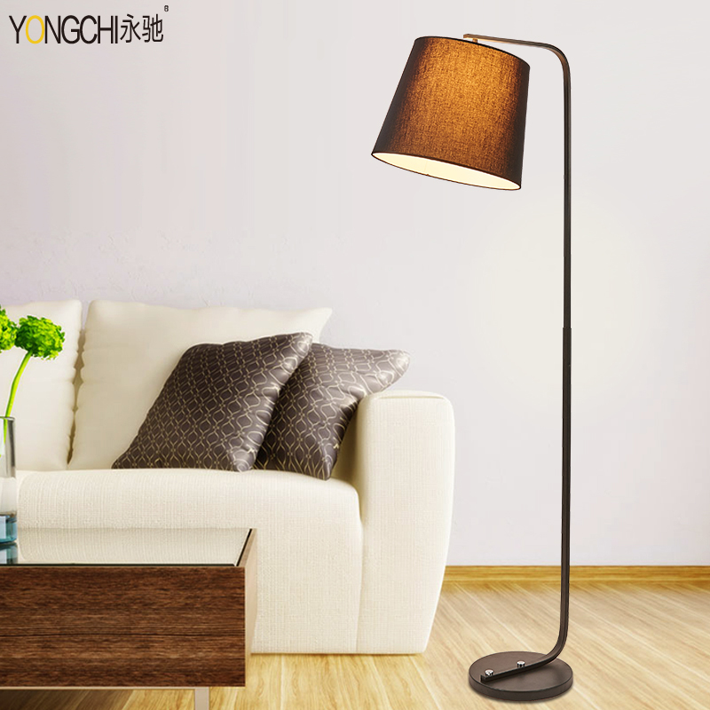 Wing chi modern living room floor lamp bedroom lamp bedside lamp american nordic creative fashion floor lamp fishing lights