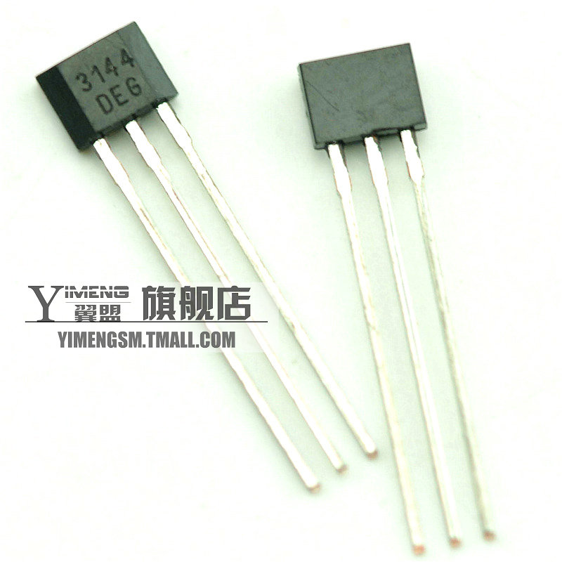 Wing league | a3144/oh3144/y3144 hall sensor/brushless motor to-92ua (20 rats)