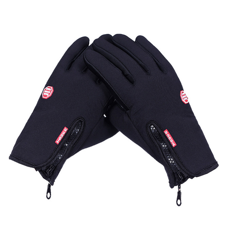 Winter outdoor windproof fleece gloves warm gloves riding gloves sports gloves touch screen mobile phone touch 2