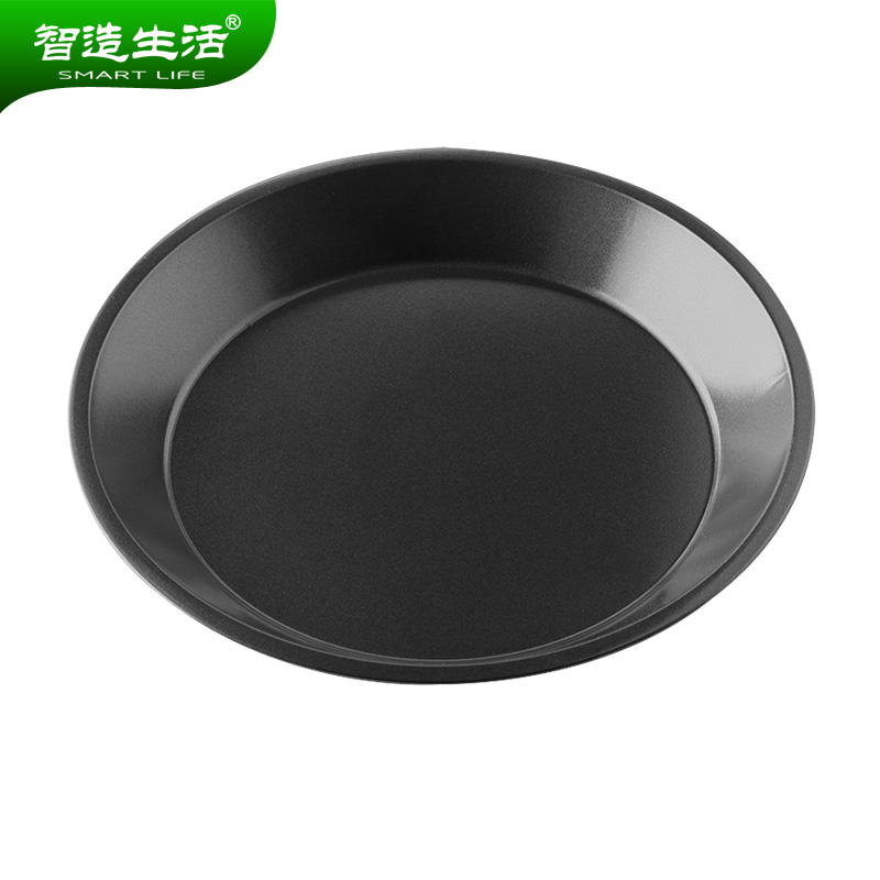 Wisdom made life 8 inch steel nonstick baking oven baking mold deep dish pizza pan nonstick pizza pizza broasted disc