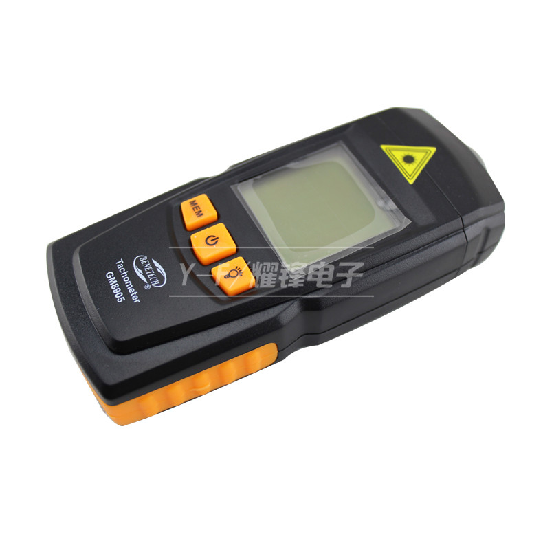 Wise optoelectric contactless GM8905 high precision laser tachometer speedometer tachometer