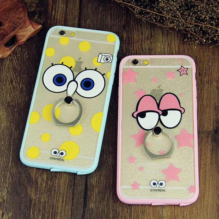 With a dust plug apple iphone6s plus 5.5 plus phone shell silicone protective shell protective sleeve lovers