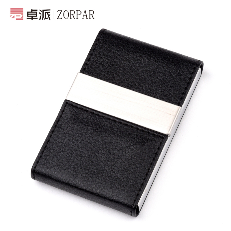 Women's fashion personalized custom business card holder business card holder card holder creative metal business card holder card case large capacity ms. practical