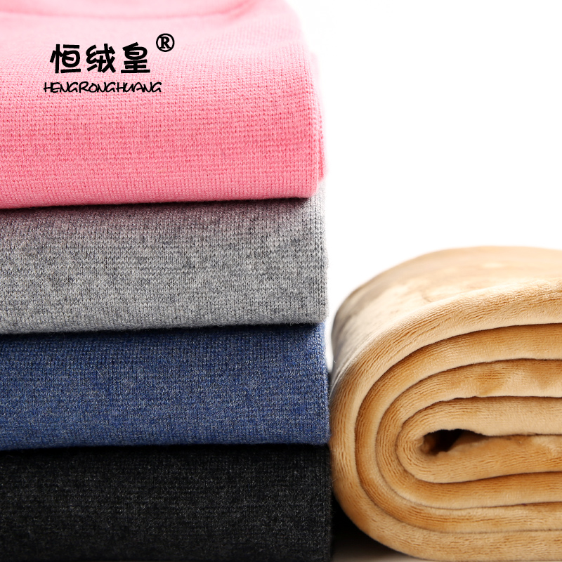 Wong heng cashmere wool pants children boys plus thick velvet trousers warm leggings baby girls cashmere pants maoku