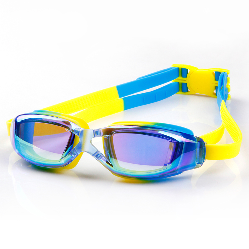 1dde8ab442 Get Quotations · Woo swim goggles lovely water fog swim goggles children swimming  goggles electroplating big box bright does