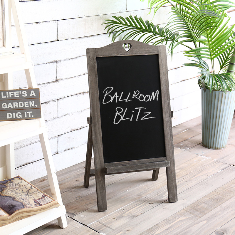 Wooden garden ornaments american country verticle blackboard blackboard message board advertising decorative frame rack clothing store cafe bar