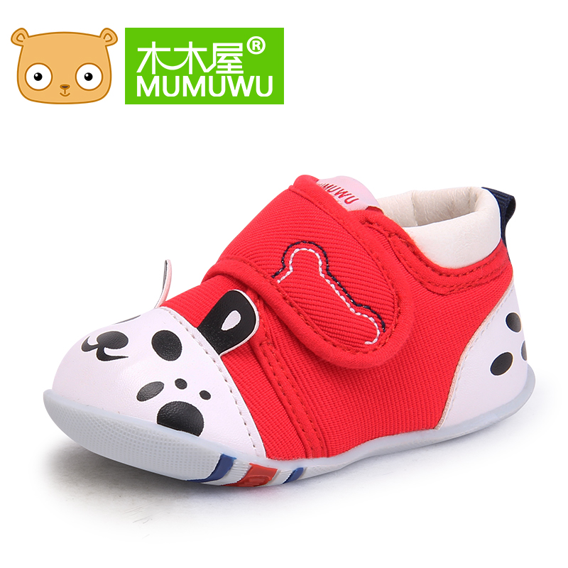 Wooden huts shoes 2016 six months of age in spring and autumn baby shoes baby shoes toddler shoes soft bottom slip