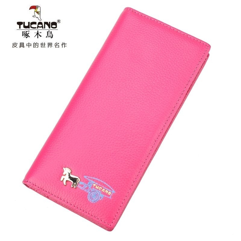 Woodpecker ms. wallet women wallet purse cowhide leather wallet women wallet long section of female wallet can shoot there goods