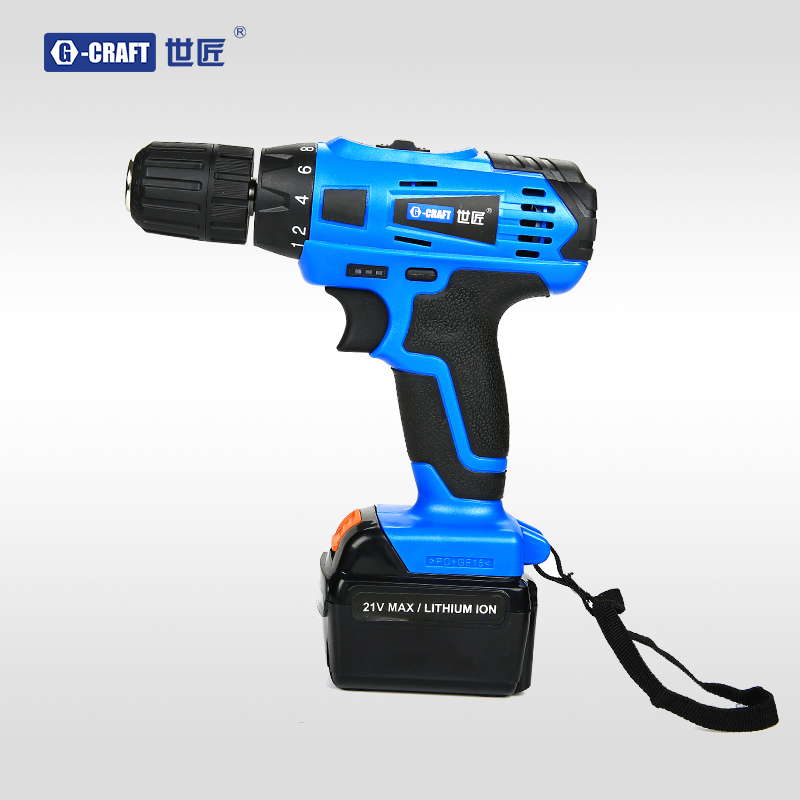 World carpenter 21v4000 mah lithium rechargeable drill drill drill kit multifunction household electric screwdriver drill hand drill