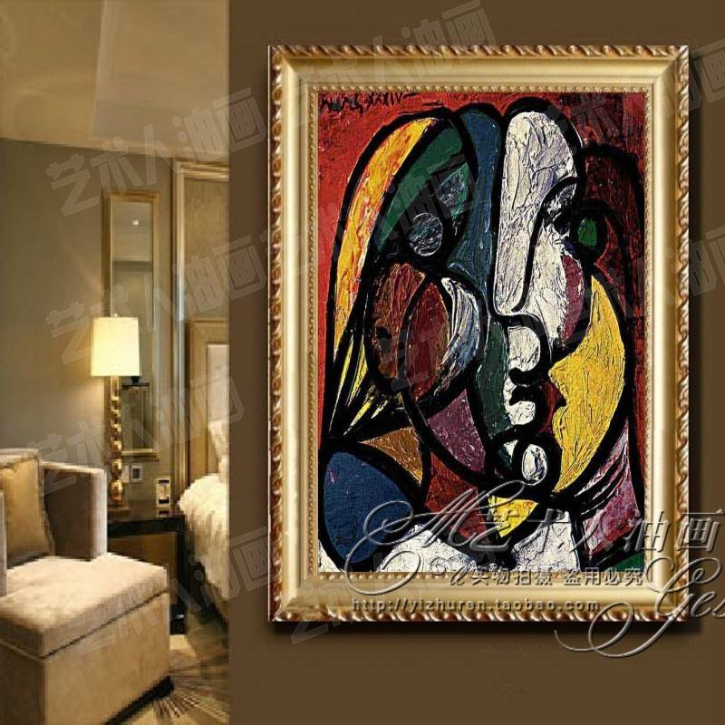 World famous painter pablo picasso painting murals painted paintings home upscale framed painting paintings in the world masterpiece