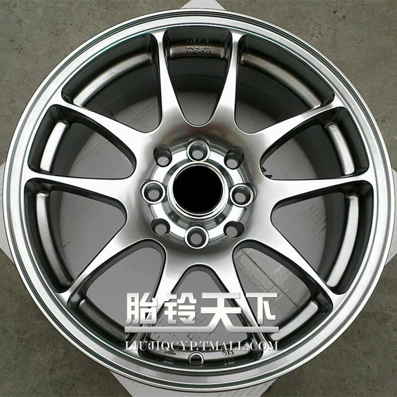 [World] fetal bell modified car alloy wheels rims 10 column rims steel ring 15 inch 16 inch