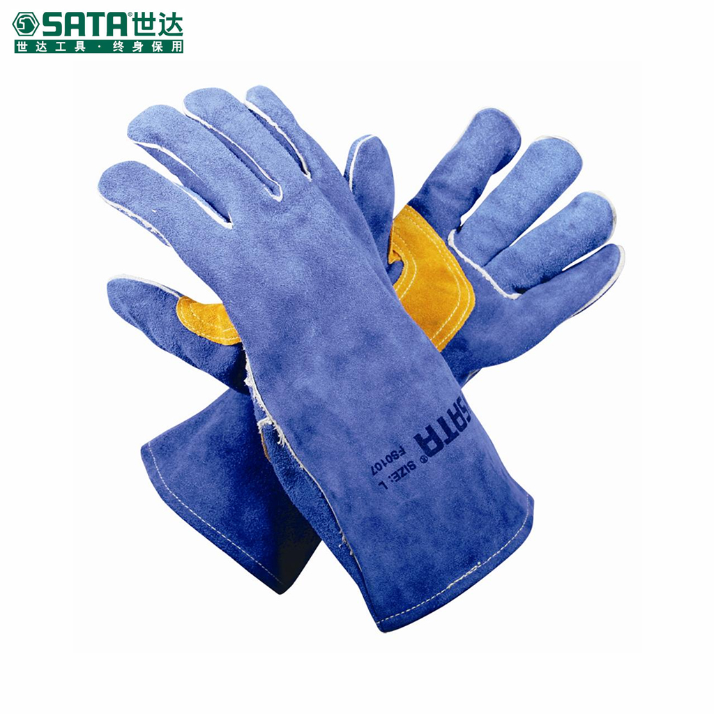 World of labor protective gloves labor gloves safety gloves fs0107 l xie zhi welding gloves welding gloves
