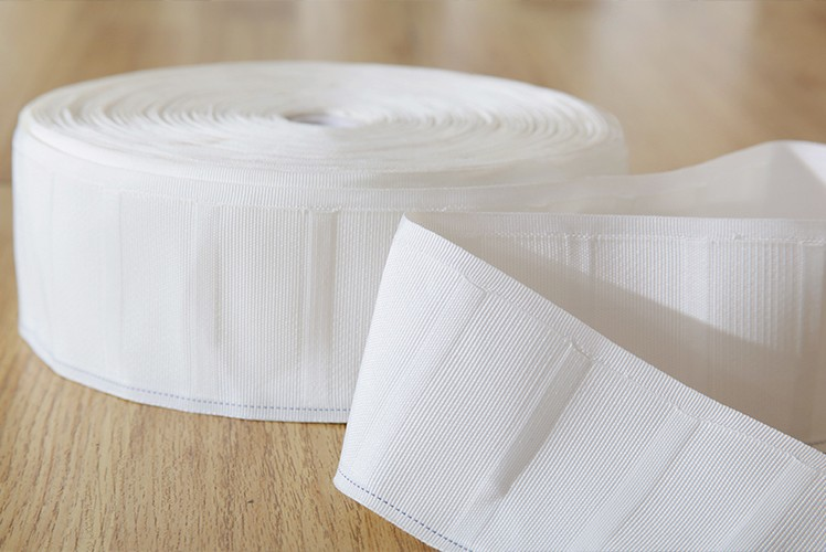 Woven cloth with perforated cloth curtain accessories cloth belt hook aging washing machine can wash is not bad