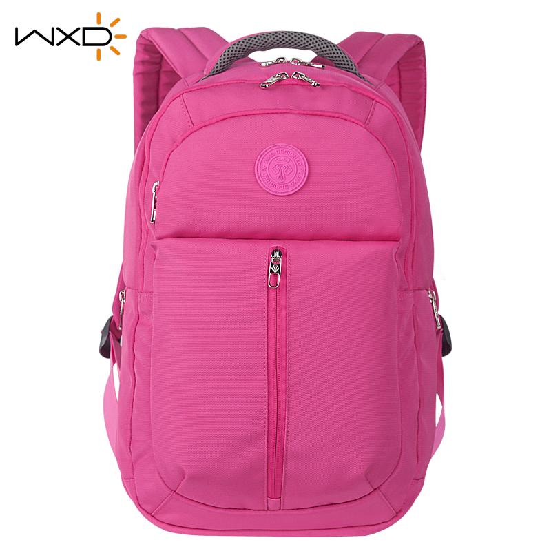 c1628419925 Get Quotations · Wxd/million letter of million letter of business shoulder  bag backpack schoolbag female high school