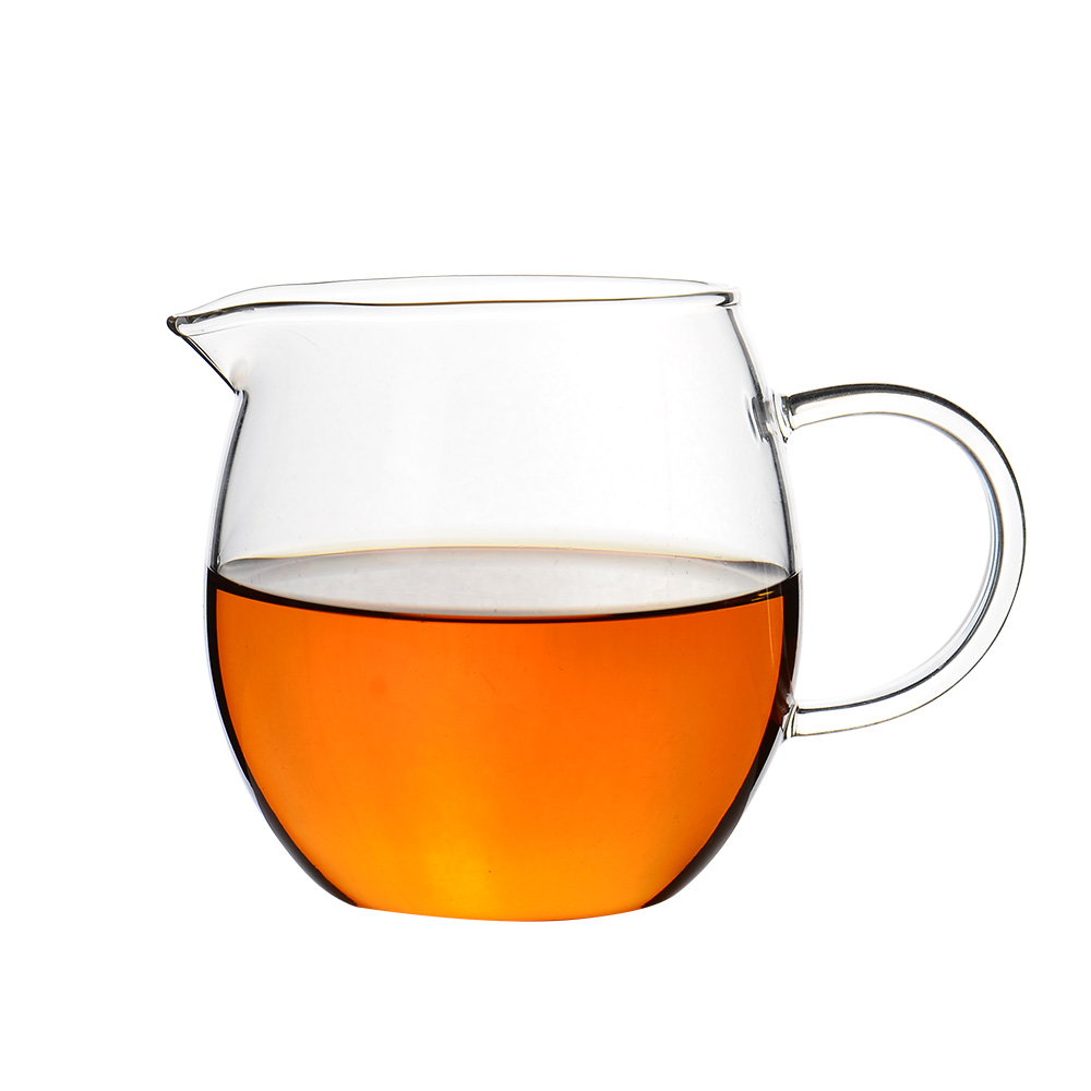 Wynn department of high borosilicate glass fair cup thick pyrex sub sea kung fu tea tea dragon tea cup male