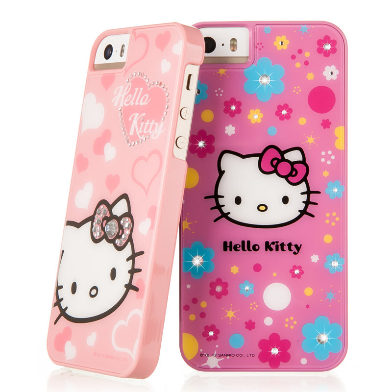 X-doria hello kitty hello kitty diamond 5se iphone5 apple phone shell protective sleeve cartoon girl