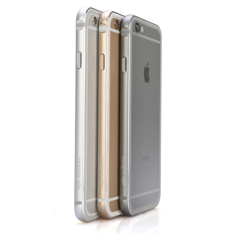 Xdoria iphone6 metal frame mobile phone sets built-in soft apple 6 metal frame phone shell mobile phone shell tide