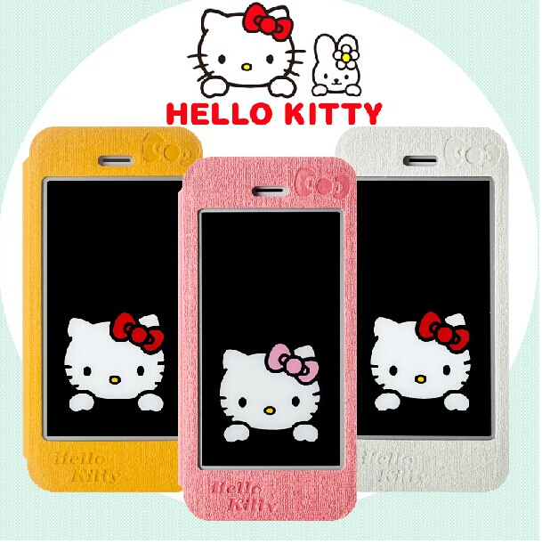 Xdoria road swiss iphone5s protective sleeve hello kitty mobile phone shell holster turn around iphone5se