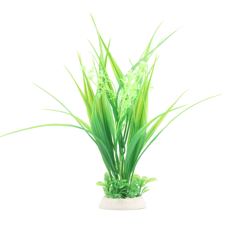 Xiao da aquarium fish tank decorative landscaping plants simulation simulation plants aquarium landscaping grass green grass flowers