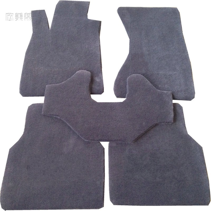 Xin us pedicle car mats suitable for audi q5 a4l a6l a8l rs5 dedicated imported pure wool pads